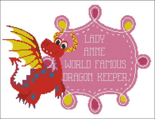 World Famous Dragon Keeper Girl (Customizable)