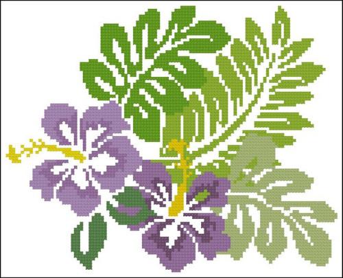 Hibiscus Tropical Violet