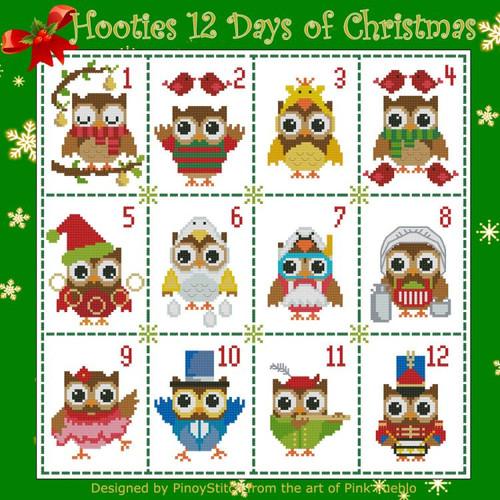Hooties 12 Days of Christmas