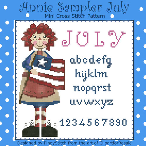 Annie Mini Sampler 007 July