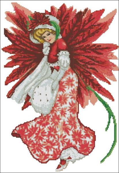 Christmas Fairy Victorian