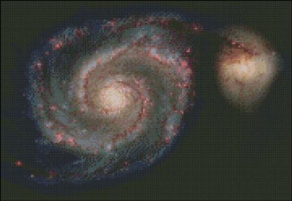 Astronomy - Messier 51 Galaxy