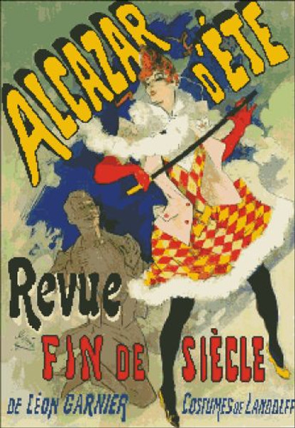 Alcazar d'Ete French Poster