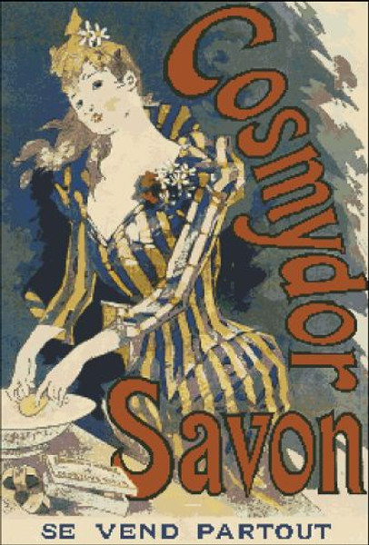 Cosmydor Savon French Poster
