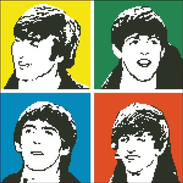 Fab Four in New York 1964 (Beatles)