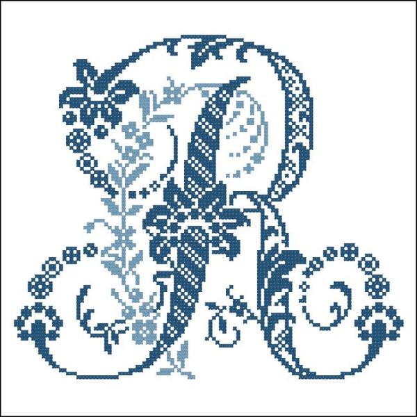 Elaborate Alphabet R