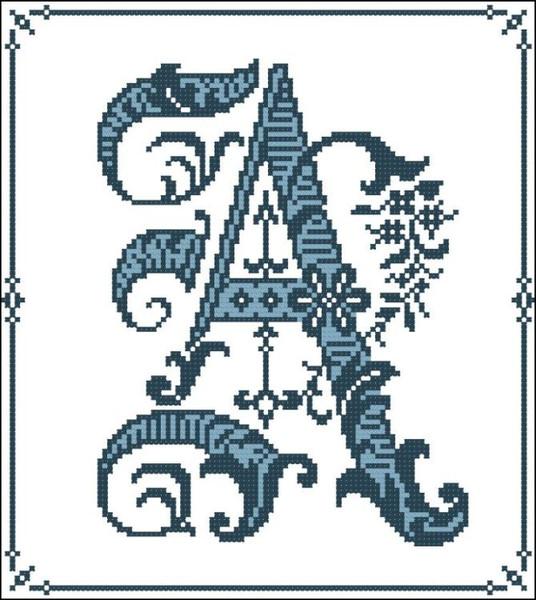 Gothic Alphabet A