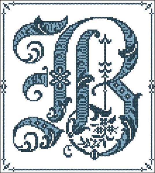 Gothic Alphabet B