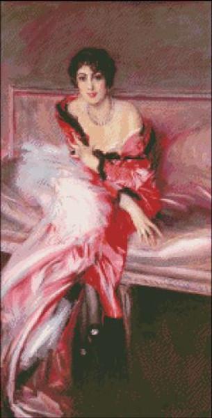 Madame Juillard in Red