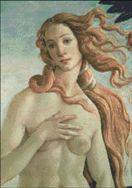 Birth of Venus (Detail 2)