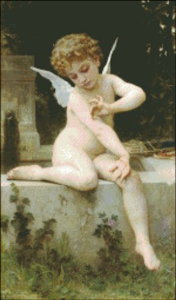 Cupid with Butterfly