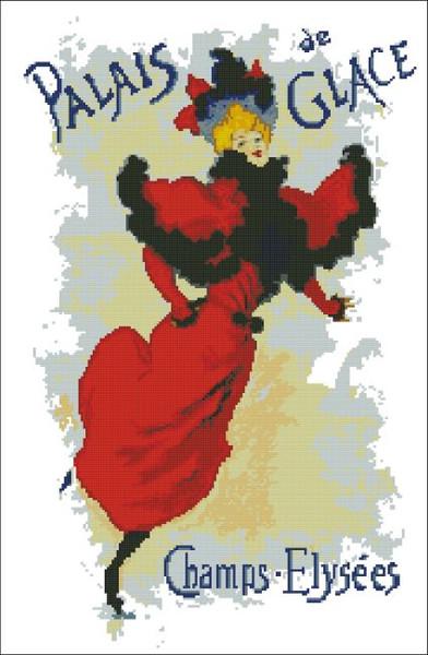 Palais de Glace French Poster