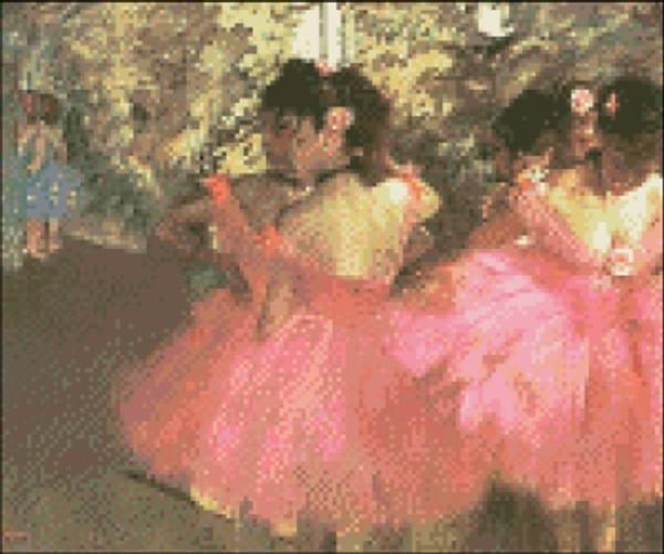 Dancers in Pink