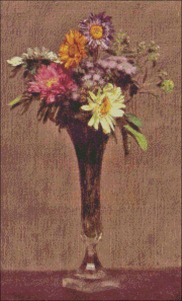 Daisies and Dahlias