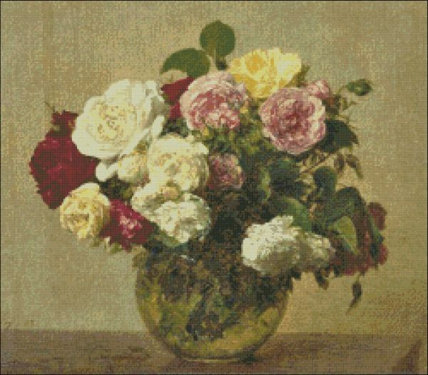 Roses Bouquet by Fantin