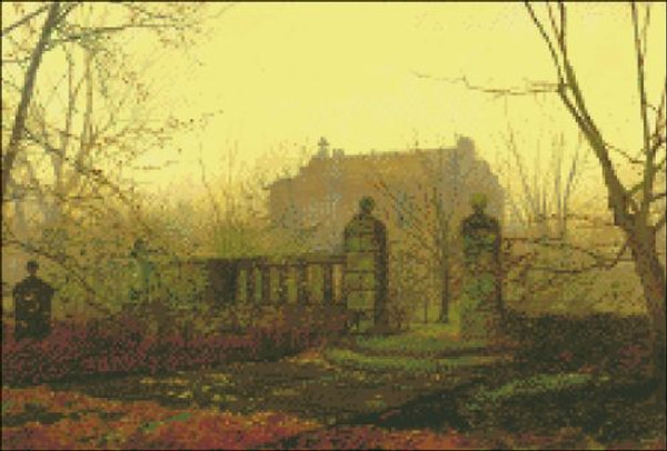 Autumn Morning by Grimshaw