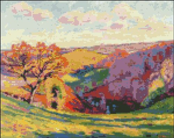 Creuse at Crozant