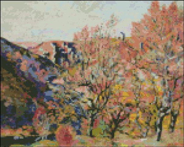 Sedelle Valley in Crozant