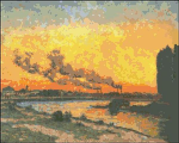 Sunset at Ivry