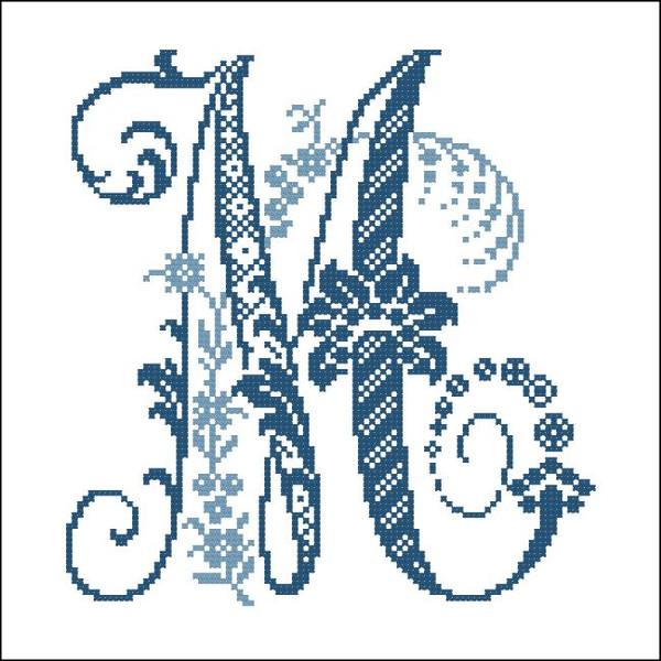 Elaborate Alphabet M