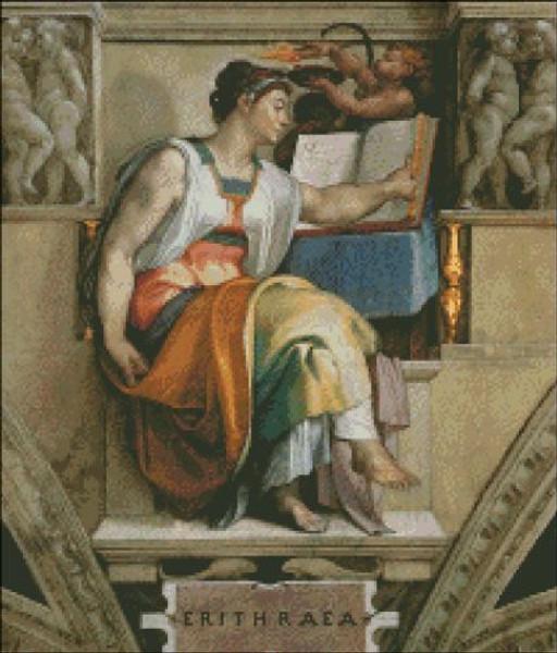 Sybils Erithraea (Sistine Chapel Detail)