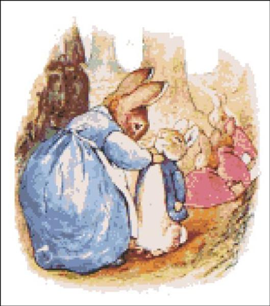 Be Good Little Rabbits Peter Rabbit