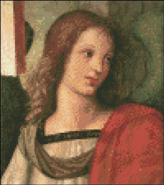 Angel (Fragment from Baronci Altarpiece)