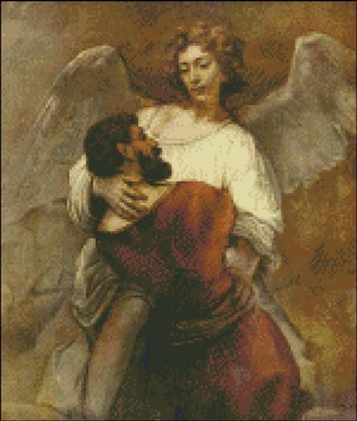Angel Wrestling Jacob