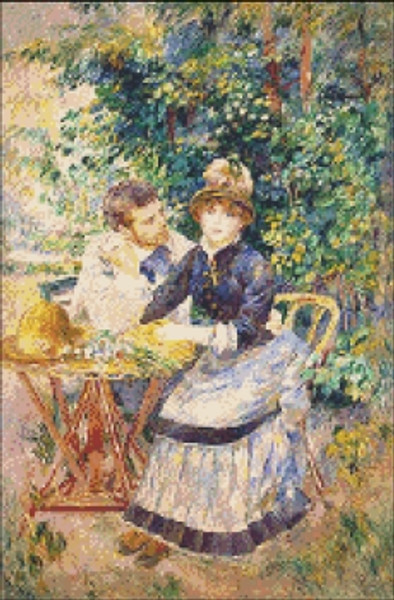 In the Garden by Renoir