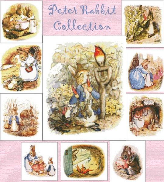 Peter Rabbit Cross Stitch Collection