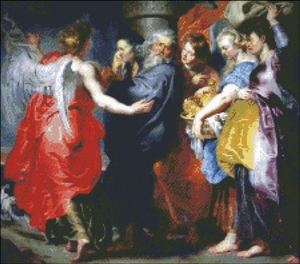 Departure of Lot and his Family