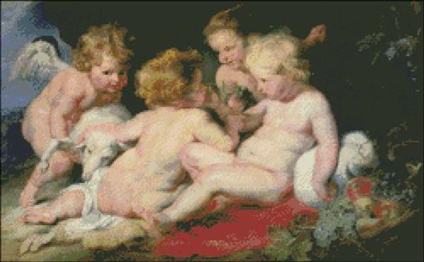 Infant Christ with John the Baptist