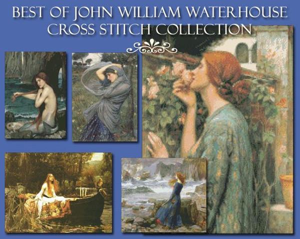 Waterhouse Cross Stitch Collection