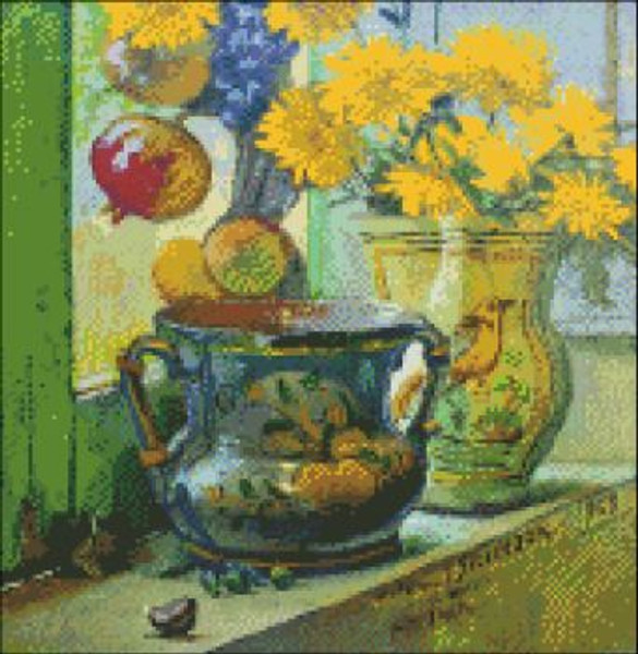 Still Life with Pitchers