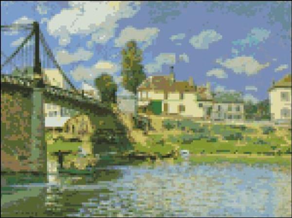 Bridge at Villenueve-la-Garenne