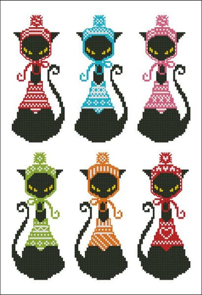 Black Cat Knits Bookmark