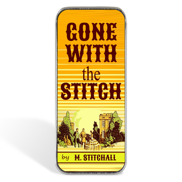 Magnetic Sewing Needle Case Book Lover Gone with the Stitch