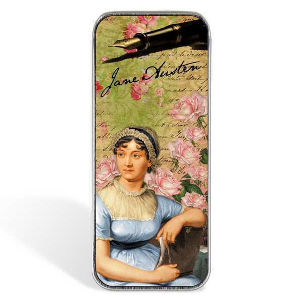 Magnetic Sewing Needle Case Book Lover Jane Austen Book