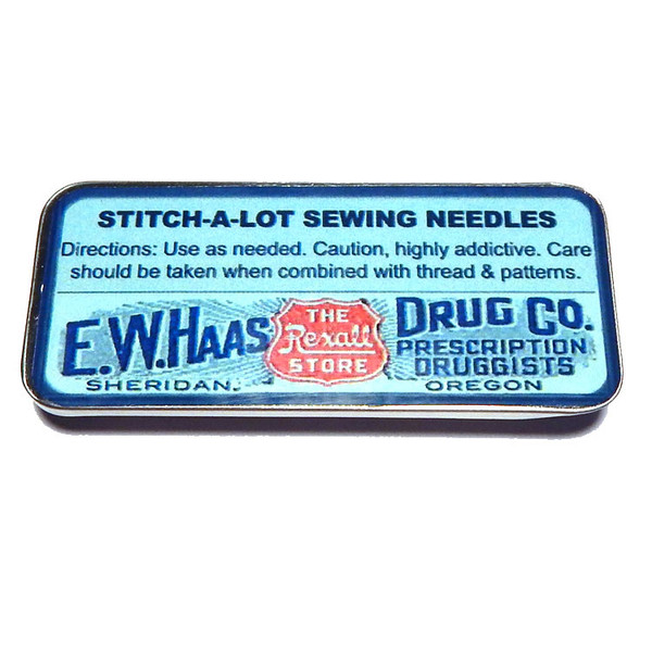 Magnetic Sewing Needle Case Vintage Stitch-a-Lot Presciption Needles