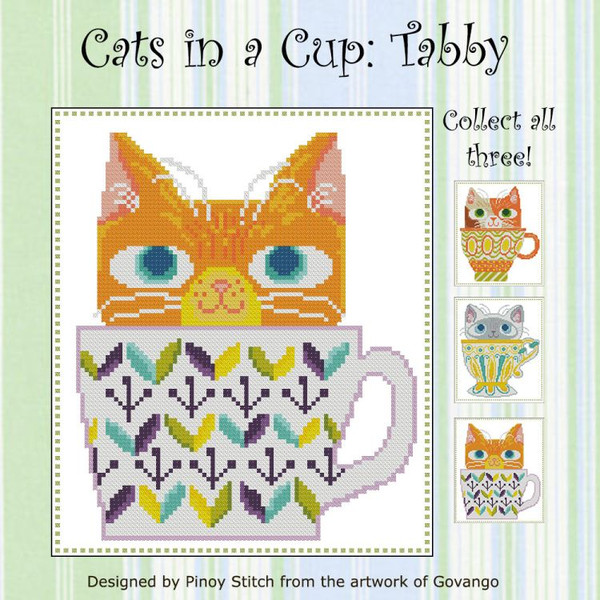 Cats in a Cup Tabby