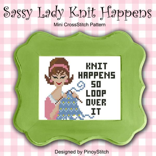 Sassy Lady Knit Happens