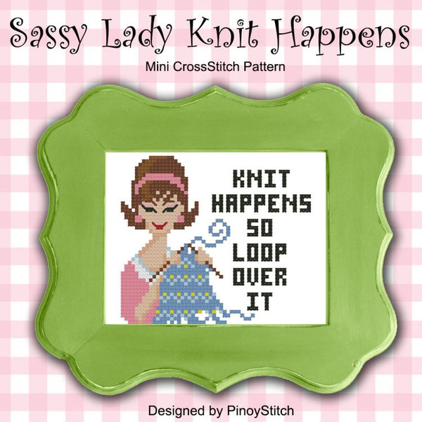 Sassy Lady Knit Happens