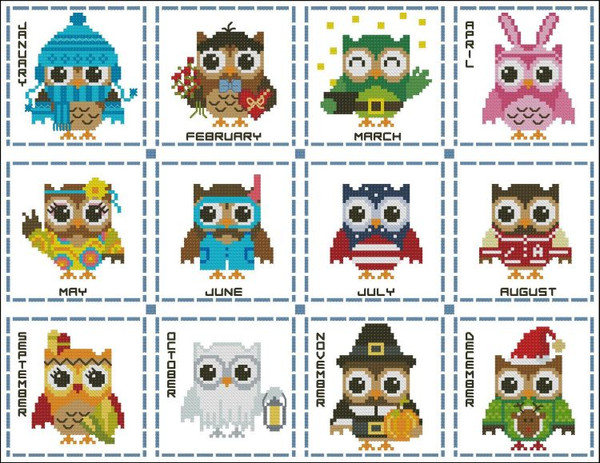 Hooties Year Round Minis #2 Collection