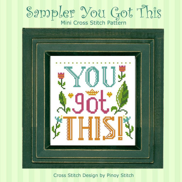 You Got This Mini Quote Sampler