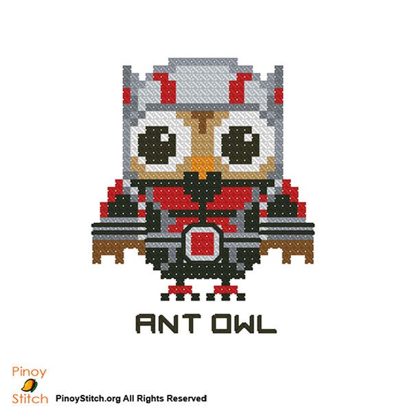 Hootie Super Hero Ant Owl
