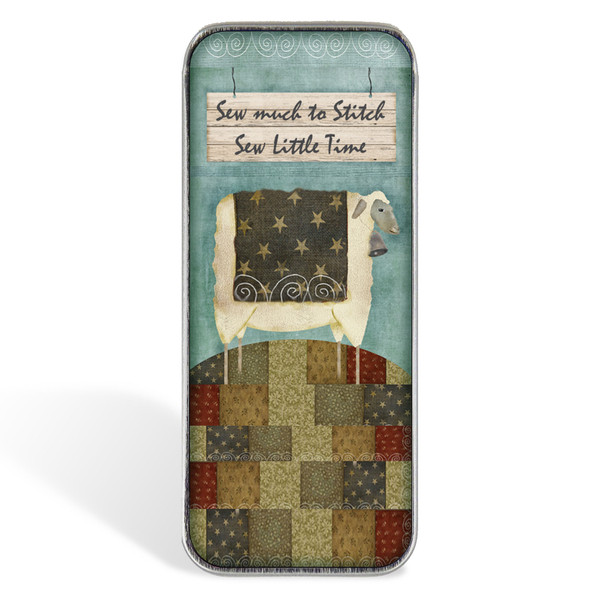 Magnetic Sewing Needle Case Quotes Sew Much to Stitch Sew Little Time