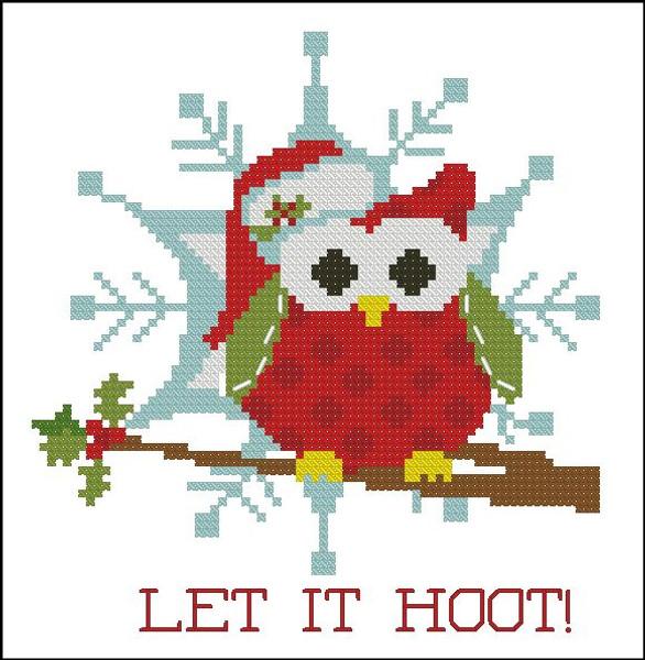 Christmas Hootie 005 Let it Hoot