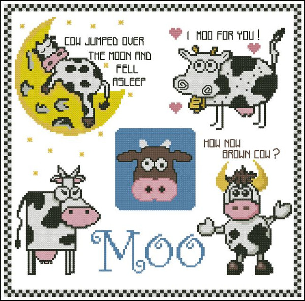 Cows Mini Moo Collection