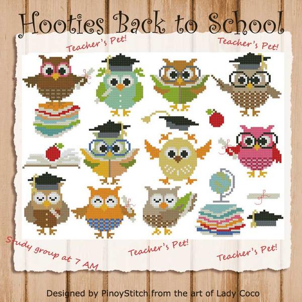 Hooties Back to School