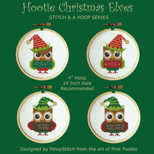 Hooties Christmas Elves